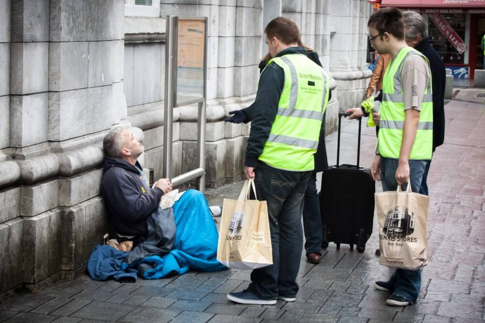cork helping homeless