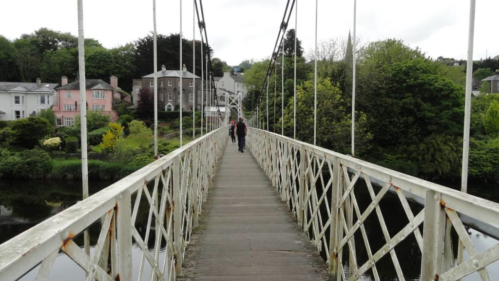 days suspension bridge cork
